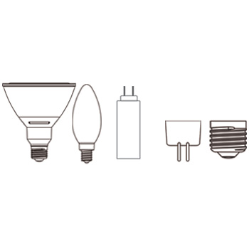 LED Lamp Shapes and Bases List