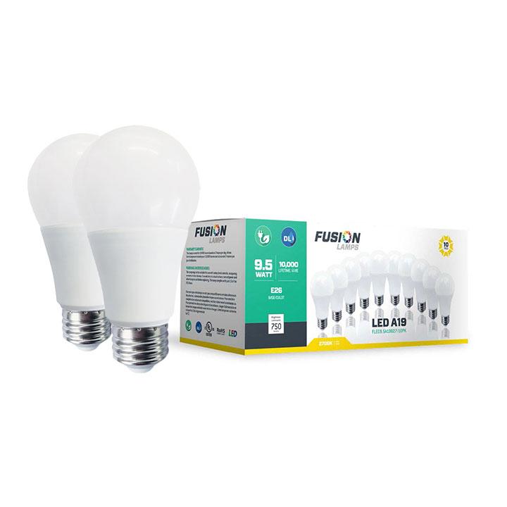 LED A19 Non-Dim 10-Pack Series