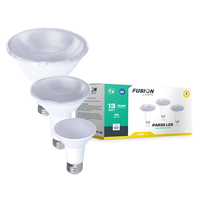 LED PAR Lamp 3-Pack Series