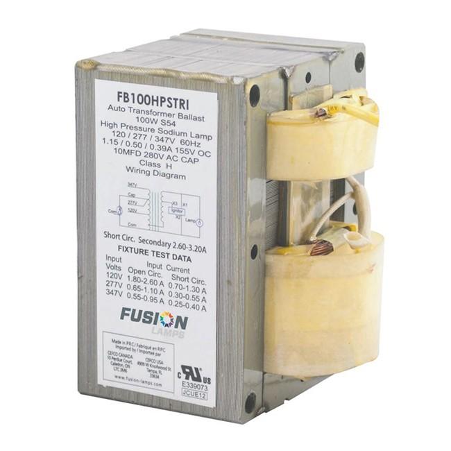Fusion | FUSION 100W HPS Tri-Tap Ballast (S54)